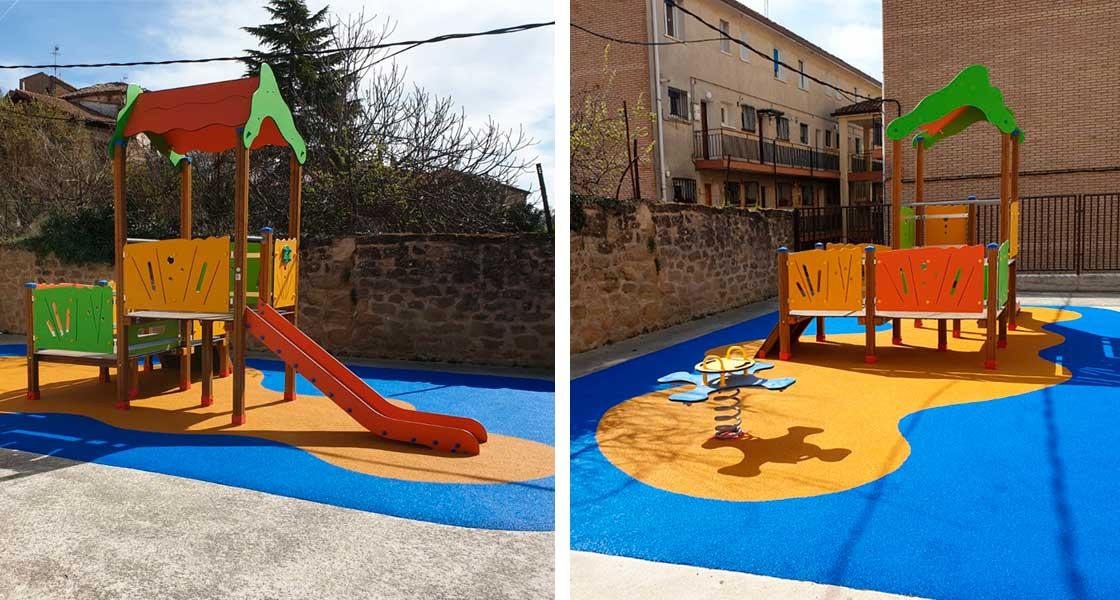 Parque de juegos de CEIP LABASTIDA, Labastida