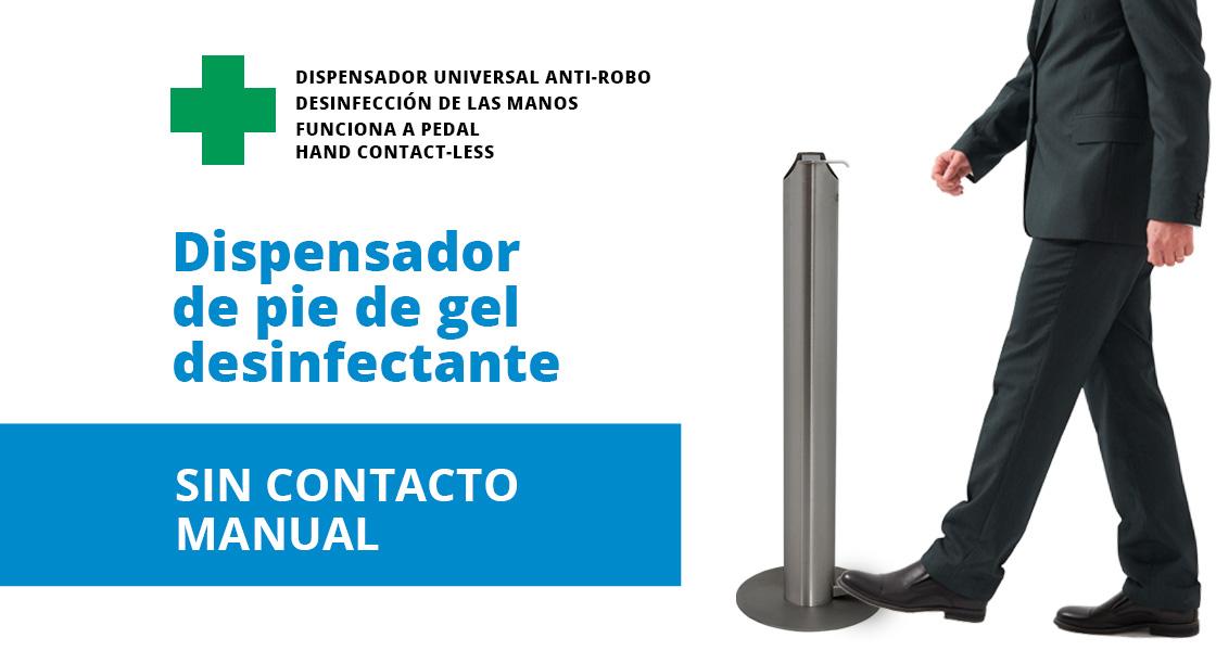 TANTA, el dispensador de pie de gel desinfectante que te ayuda a recuperar la normalidad en tu empresa